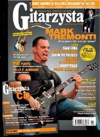 Krzysztof Blas writes for the magazine Guitarist !