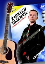"Acoustic guitars with ""No Secret"" book"