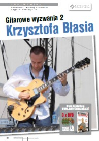 Interview with Krzysztof Blas in the December Magazine TOP GUITAR!