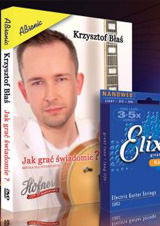 New DVD and Elixir strings set!