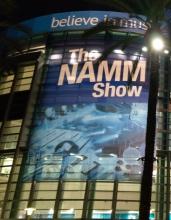 Krzysztof Blas on NAMM SHOW 2018 !