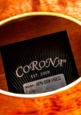 Corona Guitar introduces an electroacoustic guitar model signed by Krzysztof Blas!