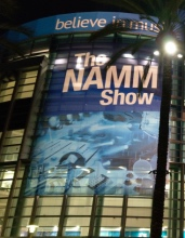 Krzysztof Błaś touring at the Namm Show 2019, Anaheim, California, USA!