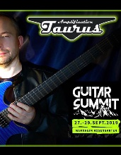 Krzysztof Blas & Taurus Amps on Guitar Summit, Mannheim, Germany, 27-29.09 2019